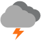 Durante la prima parte della giornata poco nuvoloso con scrosci temporaleschi tendente nella seconda parte della giornata poco nuvoloso con piogge moderate