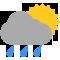 Durante la prima parte della giornata Sereno tendente nella seconda parte della giornata Coperto con qualche pioggia