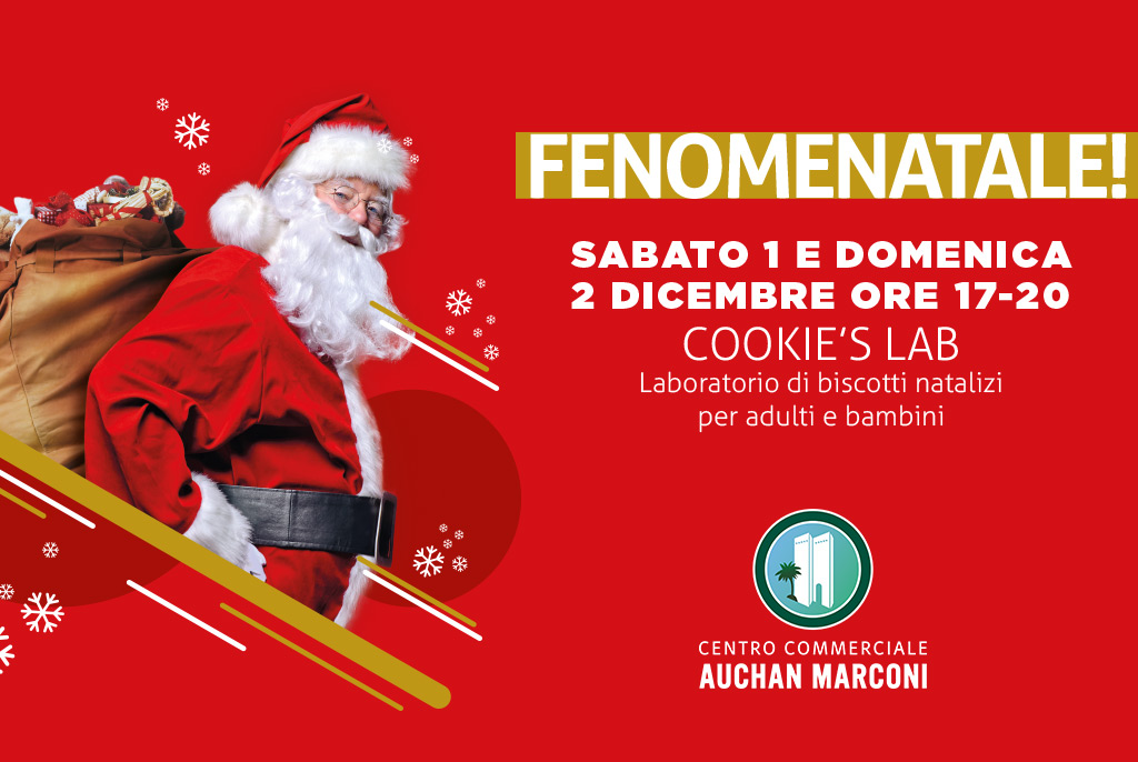 Un Natale Squisito Al Centro Commerciale Auchan Marconi Eventi