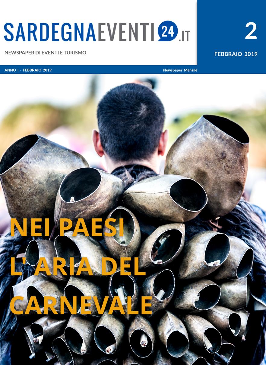Il 15 Febbraio sarà online il secondo numero della NewsPaper – SardegnaEventi24